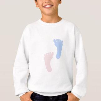 ベビーの足跡 スウェットシャツ