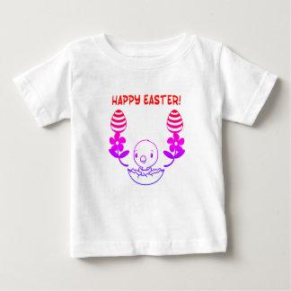 """ベビーの""""ハッピーイースター""""のTシャツ ベビーTシャツ"""