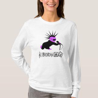 ベビーのAJパンクロックミュージシャンの女性のLong-sleeved長袖シャツ Tシャツ