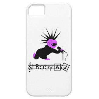ベビーのAJパンクロックミュージシャンの電話箱 iPhone SE/5/5s ケース