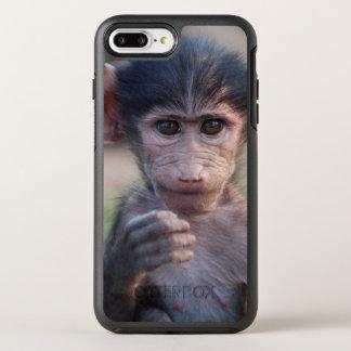 ベビーのChacmaヒヒ(南アフリカ) オッターボックスシンメトリーiPhone 8 Plus/7 Plusケース