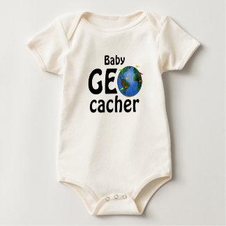 ベビーのGeocacherの地球のGeocachingのカスタムの乳児 ベビーボディスーツ