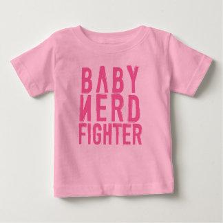 ベビーのNerdfighterのピンク ベビーTシャツ