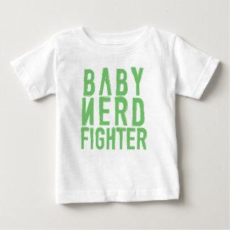 ベビーのNerdfighterの緑 ベビーTシャツ