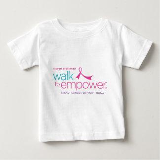 ベビーのTシャツに権限を与える歩行 ベビーTシャツ