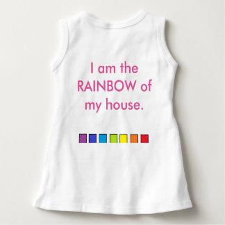 ベビーのTシャツ ドレス