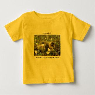 ベビーのTシャツ/白人の向かわれたゴスリング ベビーTシャツ