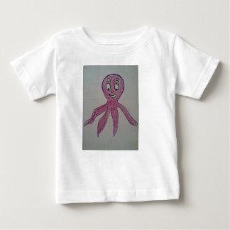 ベビーはタコを愛します!! ベビーTシャツ