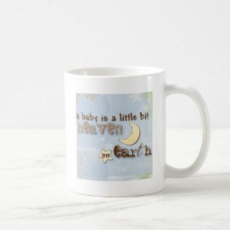 ベビーは地球の天国です コーヒーマグカップ