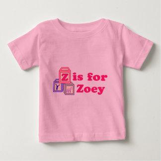 ベビーはZoeyを妨げます ベビーTシャツ