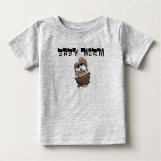 ベビーみみず ベビーTシャツ