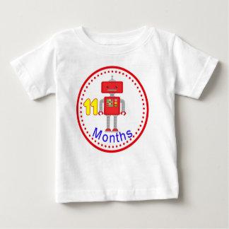 ベビーを取るための月例ベビーのワイシャツは11月曜日を描きます ベビーTシャツ