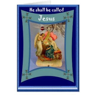ベビーイエス・キリスト カード