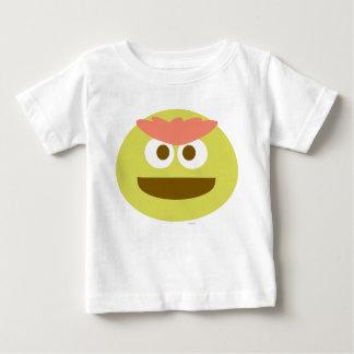 ベビーオスカー不機嫌の顔 ベビーTシャツ