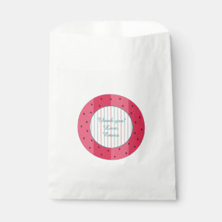 """ベビーシャワーの好意のバッグ""""スイカ傘"""" フェイバーバッグ"""