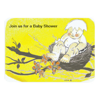 ベビーシャワーの招待状 カード