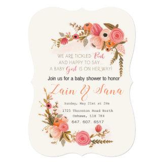 ベビーシャワーの招待状! カード