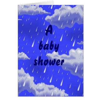 ベビーシャワーのinventationカード カード