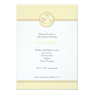 ベビーシャワー招待状 カード