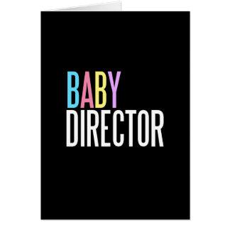 ベビーディレクター挨拶状(世界への歓迎) カード