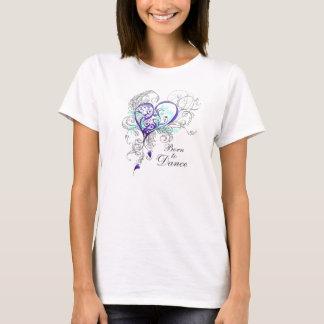 ベビードールのTシャツを生まれて下さい(カスタマイズ可能な)踊るために Tシャツ