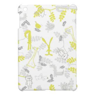 ベビー動物2を表示するパターン iPad MINIケース