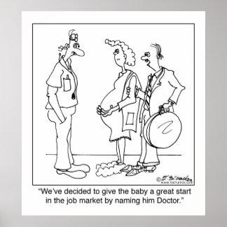 ベビー医者の名前を挙げることを行くこと ポスター