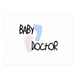 ベビー医者 ポストカード