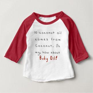 ベビー油 ベビーTシャツ