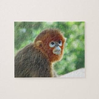 ベビー猿のジグソーパズルのデザイン ジグソーパズル
