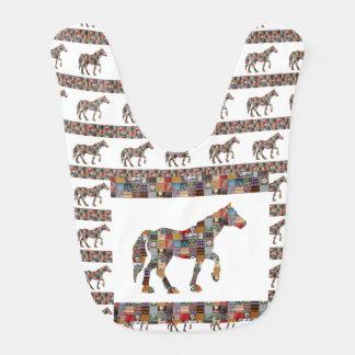 ベビー用ビブの買物の最も最高のな馬の治療の心地よいの芸術 ベビービブ