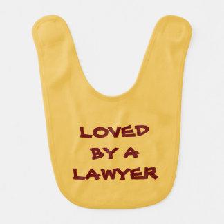 ベビー用ビブ: 弁護士によって愛される ベビービブ