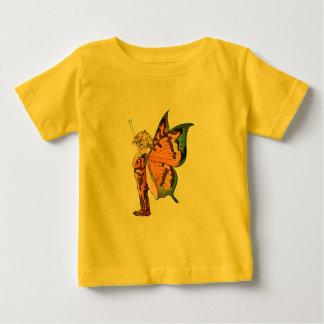 ベビー破損の妖精の国 ベビーTシャツ