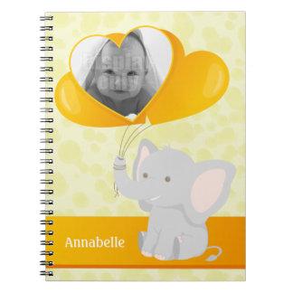 ベビー象のノート ノートブック