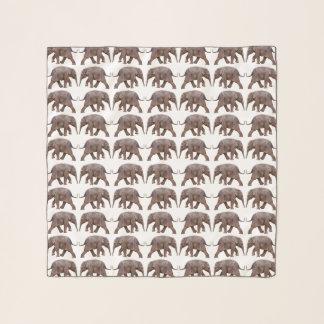 ベビー象の逆上の軽くて柔らかいスカーフ(色を選んで下さい) スカーフ