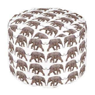 ベビー象の逆上のPouf (あなたの色を選んで下さい) プーフ