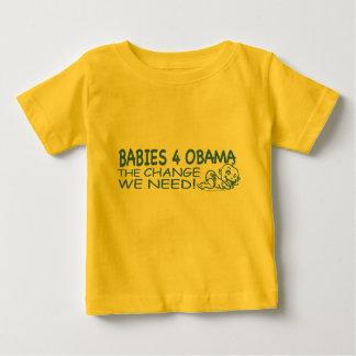 ベビー4オバマ ベビーTシャツ