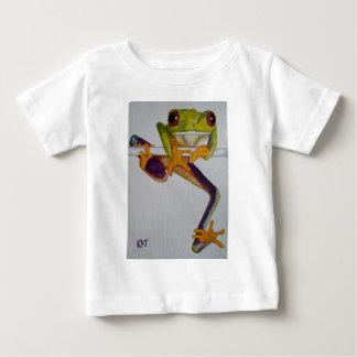 ベビー、キャンバス板@Kの7x5アクリルでそこにつるして下さい ベビーTシャツ