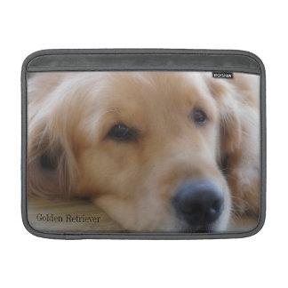 ベビー、ゴールデン・リトリーバーのMacBookの空気袖 MacBook スリーブ