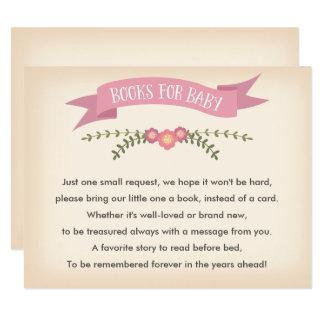 ベビー-ベビーシャワーのゲームカードのための本 カード