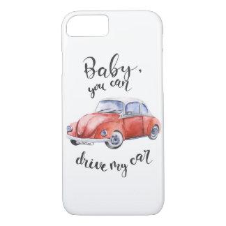 ベビー、私の車を運転できます iPhone 8/7ケース