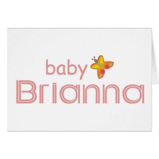 ベビーBrianna カード