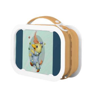 ベビーRIUSの漫画の青いyuboのお弁当箱2 ランチボックス