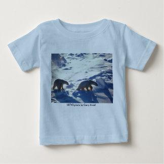 ベビーT (2)/岬Lisburneの白くま ベビーTシャツ