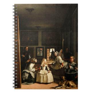 ベラスケスLas Meninasのノート ノートブック