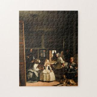 ベラスケスLas Meninasのパズル ジグソーパズル