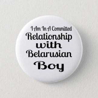 ベラルーシの男の子との人間関係 5.7CM 丸型バッジ