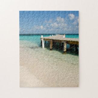 ベリセのカリブ海、Goff Caye。 小さい島 ジグソーパズル