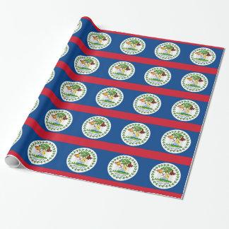 ベリセの旗が付いている包装紙 ラッピングペーパー