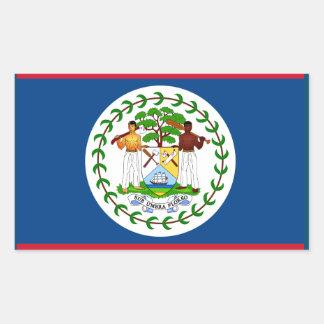 ベリセの旗のステッカー 長方形シール